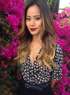 jamie chung hair ombre - Google Search