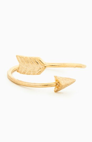 Curved Arrow Ring