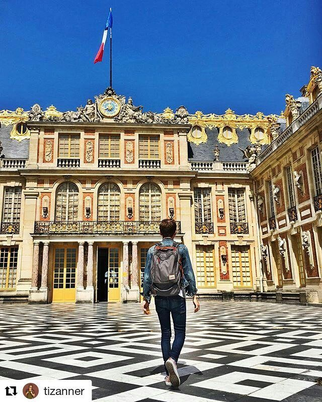 Check out @tizanner and follow him into the Palace of Versailles! PM us for your 50% off coupon! ..... #france #versailles #traveltracker #travel #explore #bonvoyage