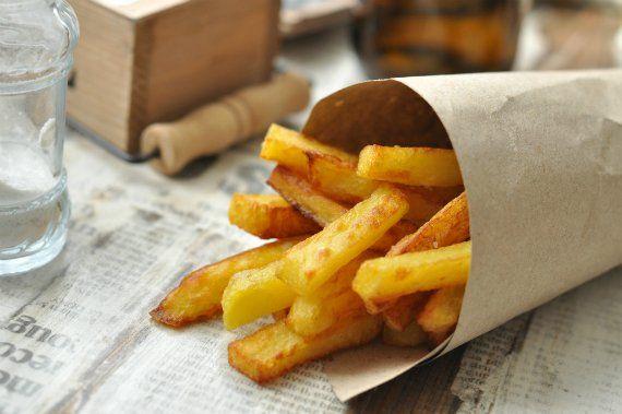 - A tökéletes sült krumpli -    Úgy, ahogy a nagy könyvben meg van írva. Olyan, mint Brüsszelben az eredeti . Mert bár fogadok, hogy Amerikában, vagy akár Angliában 100x annyi...