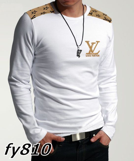 Louis Vuitton Mens Long Sleeve White Tights  $60.99  www.gomalllv.com