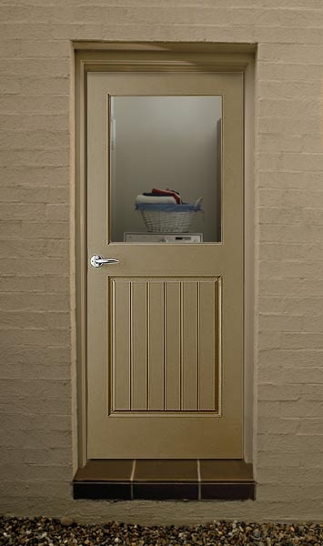 Corinthian Doors: Product: Door Visualiser - back door from garage to side courtyard