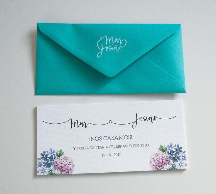 Unas invitaciones de boda muy elegantes | María Vilarino