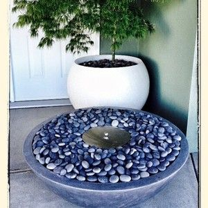 Our new Ethanol Fire Bowl. No gas fitting needed. Can also be used indoors. #firebowl #firepit