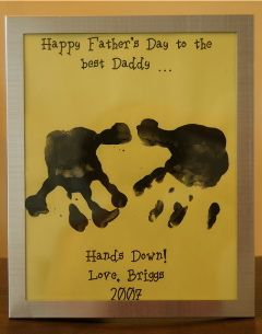 Father's Day craft idea!