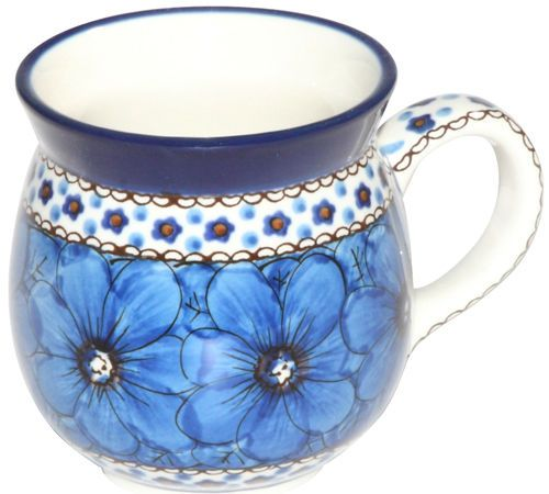 New Polish Pottery Unikat GENTS BUBBLE MUG Boleslawiec CA Pattern U408 European in Pottery & Glass, Pottery & China, Art Pottery | eBay
