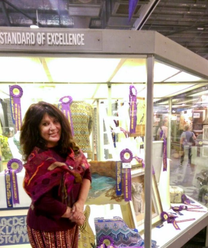 A proud moment- First Place at the Sydney Royal Easter Show 2017!