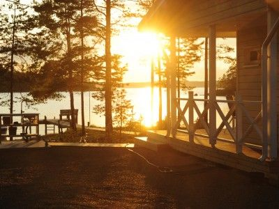 The white summer nights make the cottage experience ever so magical. Common activities at summer cottages include boating, canoeing, yard games, fishing and the inevitable sauna.