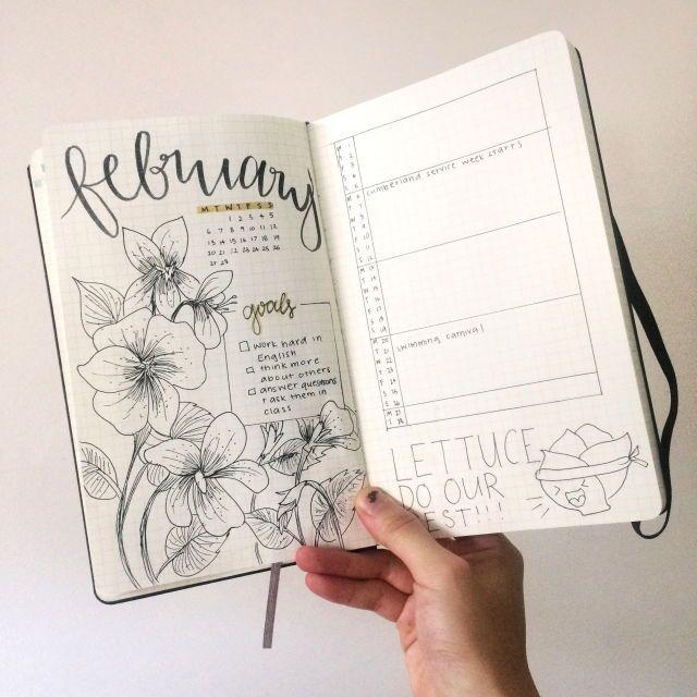 Page de garde mensuelle - programme mensuel