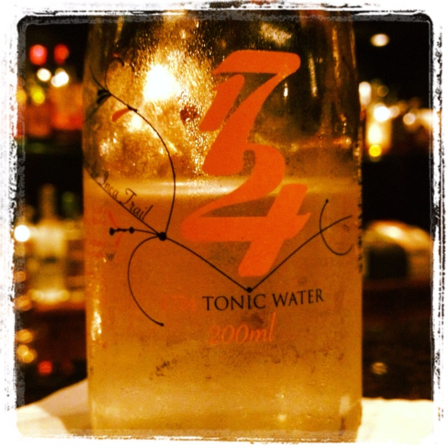 1724 Tonic water - ingredients are grown at 1724 meters above sea level