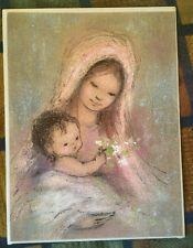 VINTAGE CHRISTMAS CARD BY REGENCY