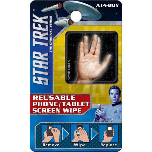 Star Trek Spock Hand Reusable Phone/Tablet Screen Wipe