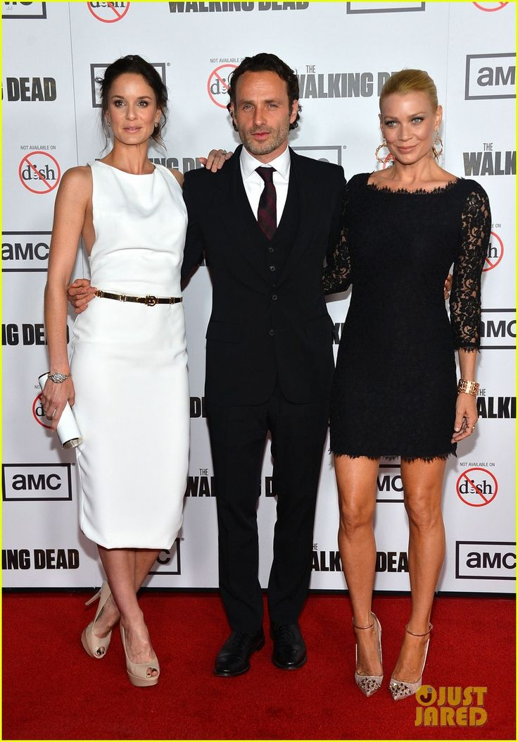 Andrew Lincoln & Sarah Wayne Callies & Laurie Holden : 'Walking Dead' Season 3 Premiere, 2012