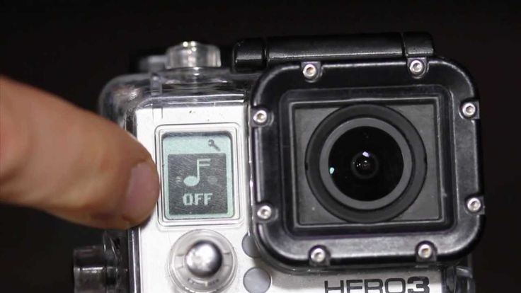 Tip #165 GoPro - How to turn off the sound beep beep