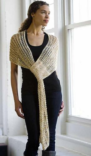 Smart Shawl (totally machine knitable!)