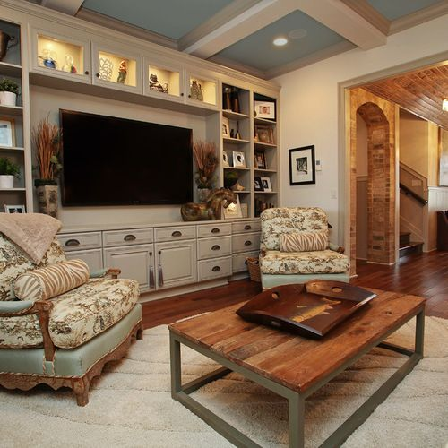 Built In Entertainment Center Home Design Ideas, Pictures