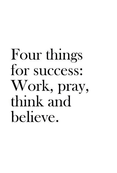 4 key components to success