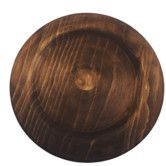 "Found it at Wayfair - 14"" Rustic Wood Charger Plate"