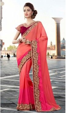 Pink Color Georgette Party Wear Saris Blouse | FH529980080 #traditional #ethnic #ootd #fashion #makeup #mua #hair #lehenga #saree #sari #jewellery #jewelry #asian #asia #wedding #weddingphotography #asianwedding #asianbride #bridal #bride #weddingbells, #love #fashion #india #wedding #floral #sari #desi #blouse #bollywood #weddings #couture #style #dress #editorial #designer #punjabisuit #makeup #sisters #satin #indianbride #beautiful #bride @heenastyle