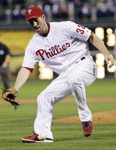 Washington Nationals vs. Philadelphia Phillies - Cliff Lee - June 18, 2013