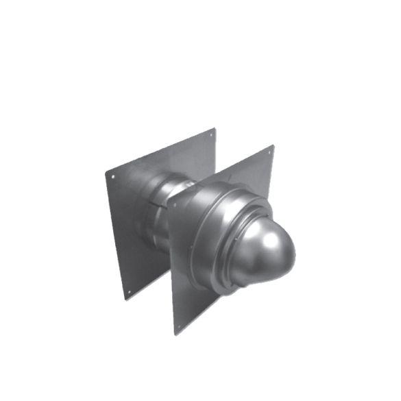 Noritz Wt5 H 7 Adjustable Wall Thimble W Built In Hood