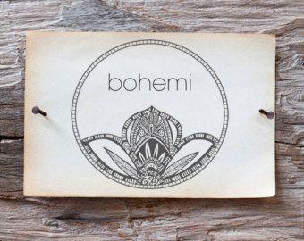 bohemian logo design - Google Search