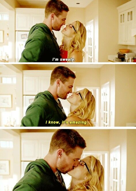 #Arrow - Oliver & Felicity #Olicity #4x01 #Season4