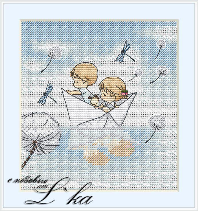 Gallery.ru / Лебединое озеро - ручная прорисовка - L-ka