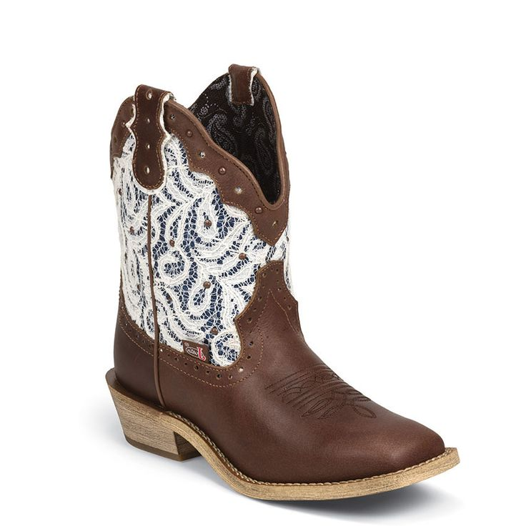 Justin Women's Lace Gypsy Western Boots