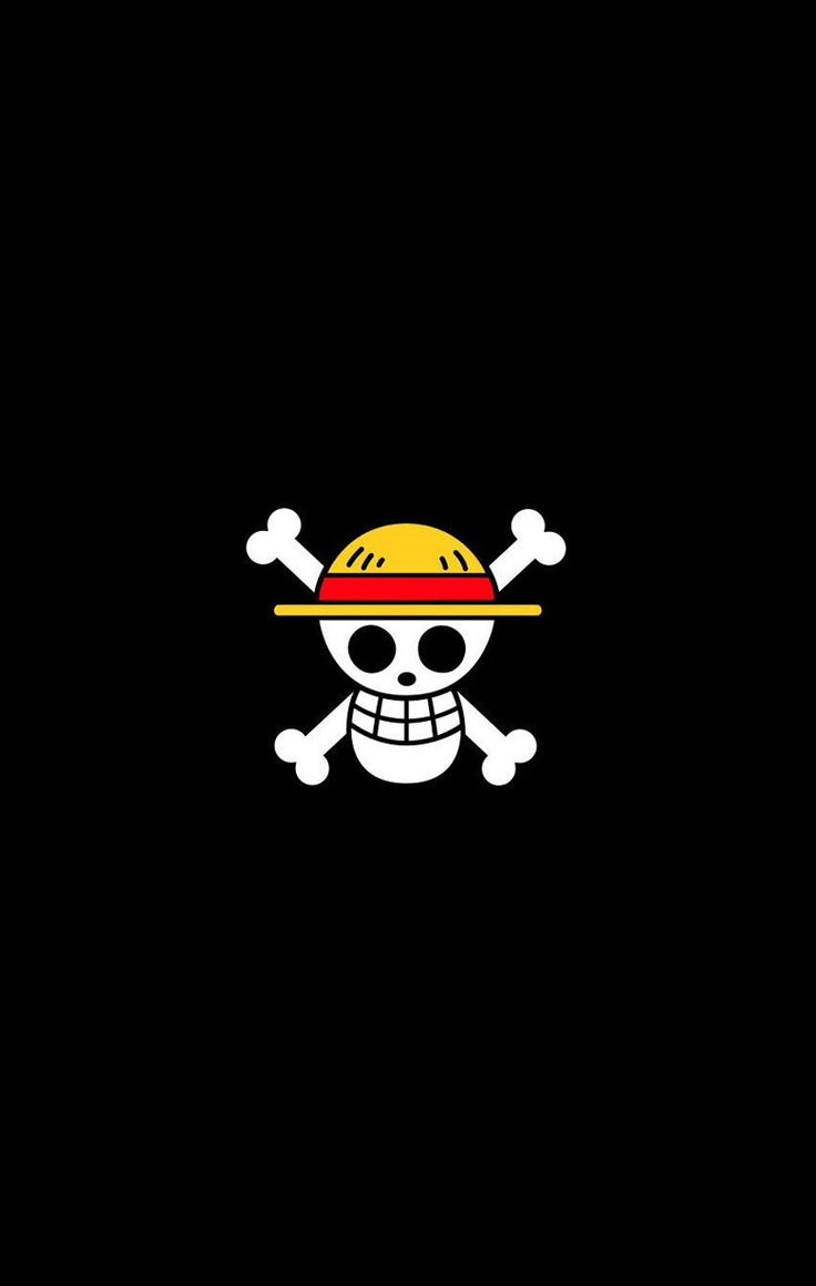Wallpaper iphone monkey - One Piece Luffy Skull