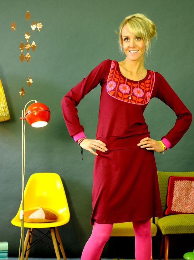 """Kleider - SALE GR. 36 KLEID """"BARBI"""" MIT PASSE * - ein Designerstück von Bonnie-and-Buttermilk bei DaWanda"""