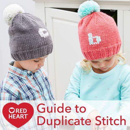 Duplicate Stitch Patterns For Knitting : Guide to Duplicate Stitch Knit Inspiration Pinterest Baby cardigan, Rav...