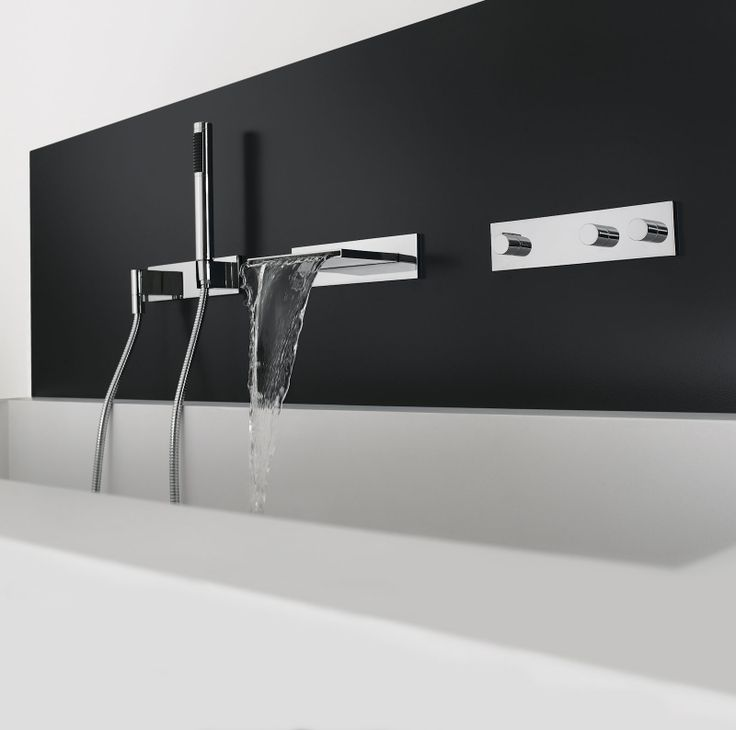Tub Filler Symetrics Modern Bathroom Concepts From Dornbracht