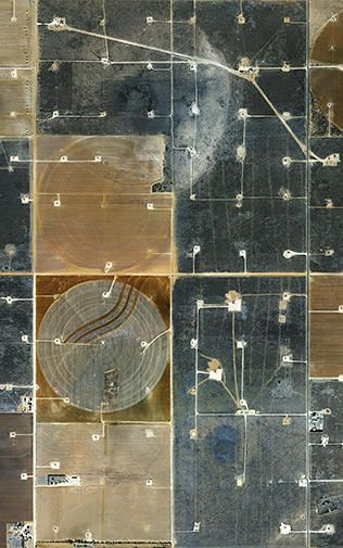 Oil field and factory farms - Mishka Henner