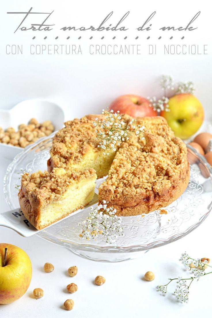 Sprinkles Dress: Torta morbida di mele con copertura croccante di n...
