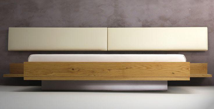 Furniture Designs JAVORINA :: Masívna dubová posteľ Thema | Solid oak bed Thema