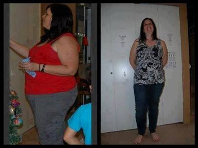 "These are REAL people on Skinny Fiber! Many were met in person, at the Dallas, Texas event on August 10th.   Here is Jenny... She says: ""Alrighty everyone.... as promised... my before and after. The before picture is HORRIFYING to me. So.... the first picture was December 2012, and the second picture was taken today, May 2, 2013. In the first picture I'm almost a size 20. Now, I am down 42 pounds, and the jeans I'm wearing are size 14. And the top I'm wearing is the only one I own that…"