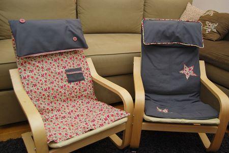 Les 25 meilleures id es de la cat gorie housses de chaises for Housse fauteuil poang