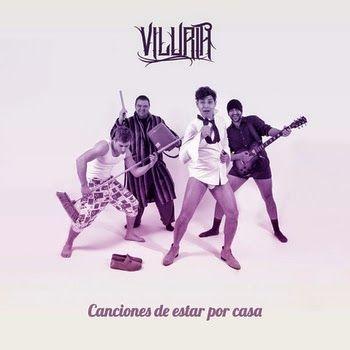 """La banda valenciana VILURIA nos adelantan tres temas de su disco debut """"Canciones de estar por casa"""""""