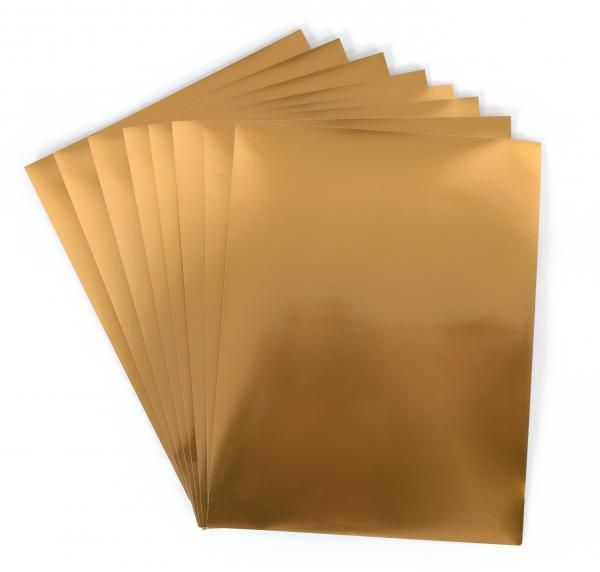 image regarding Printable Gold Foil Paper known as Silhouette Printable Gold Foil Retail store Adhesive Vinyl