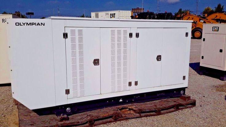 Olympian Generator G150LG2 150kW LPG Built 2012 Zero Hrs Surplus NEW 480 V 3ph. #Caterpillar