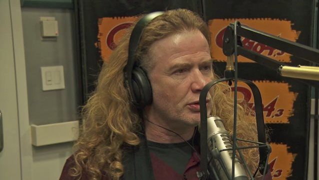DAVE MUSTAINE Says 'Megadeth Boot Camp' Will Include 'Meditational Program' And 'Church Service' From DAVID ELLEFSON