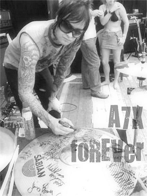 . avenged sevenfold A7X