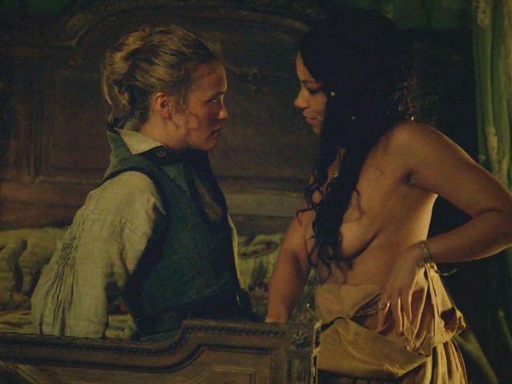 Lesbian black sails