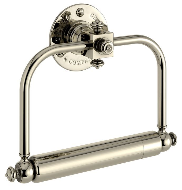 Thomas Crapper Ornate Chrome Toilet Roll Holder is available to purchase from UKAA.