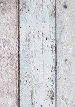 €29,90 Precio por rollo (por m2 €5,61), Novedades en papel pintado, Material base: Papel pintado TNT, Superficie: Estructura fina, Vinilo, Aspecto: Mate, Diseño: Tablas de madera antiguas, Color base: Marrón, Blanco crema, Azul grisáceo claro, Color del