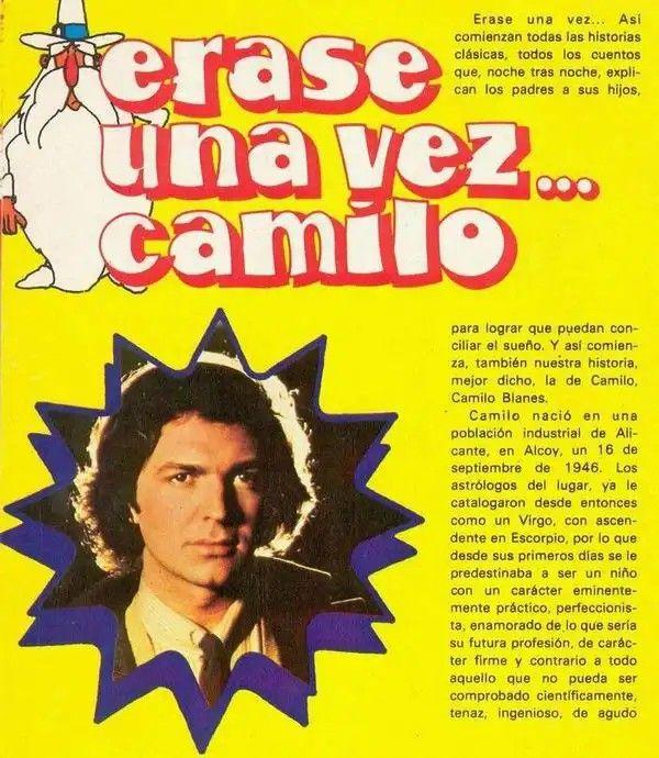 Pin De Sheyla Morenomolinares En Camilo Sesto Camilo Sesto Camilo De Mi Camila