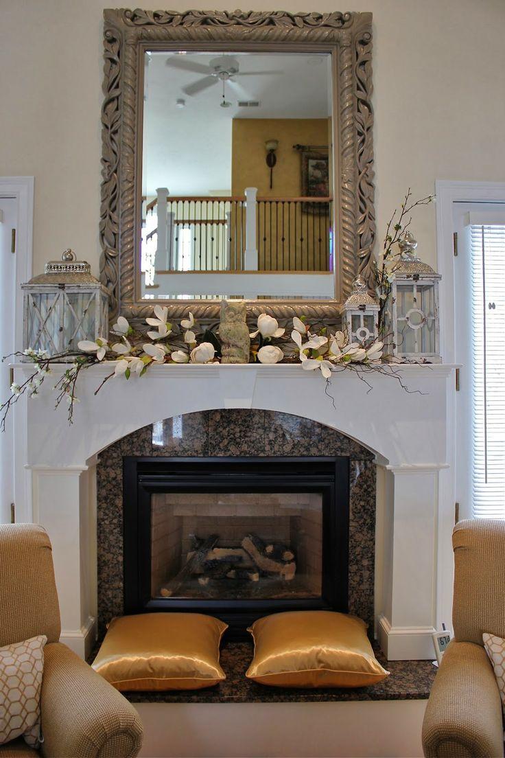 25 best ideas about mantle mirror on pinterest. Black Bedroom Furniture Sets. Home Design Ideas