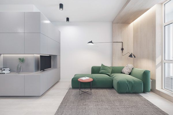 3 modern apartments with chic rooms for the kids home plans and