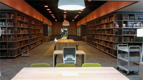 The new Melbourne Campus Library.
